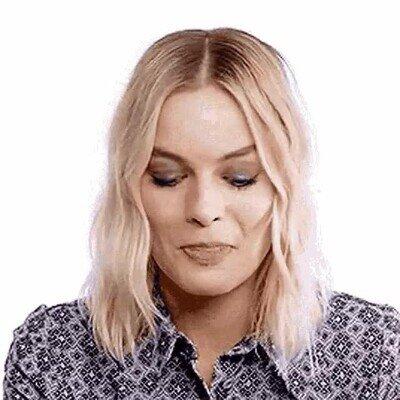 Enlace a Imposible ser más adorable que Margot Robbie