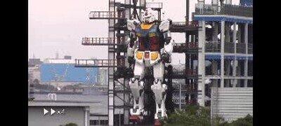 Enlace a Test del robot Gundam en japón. Esto va en serio
