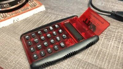Es un fantasía como se enciende esta calculadora