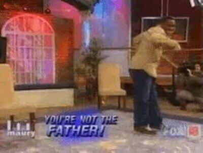 Enlace a Cuando te dicen que no eres el padre