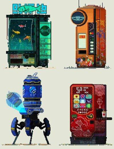 Enlace a Así serán las máquinas de vending del futuro