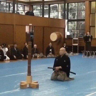 Enlace a La velocidad de este samurai no se puede seguir con la vista humana