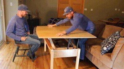 Enlace a Necesito una de estas mesas en casa para aprovechar el espacio al máximo