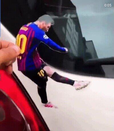 Enlace a Si te gusta el fútbol vas a alucinar con esta idea para el coche