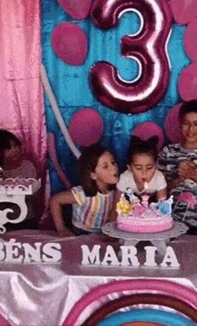 Una fiesta de cumpleaños con bastante polémica