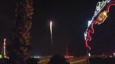Unos fuegos artificiales realmente impresionantes
