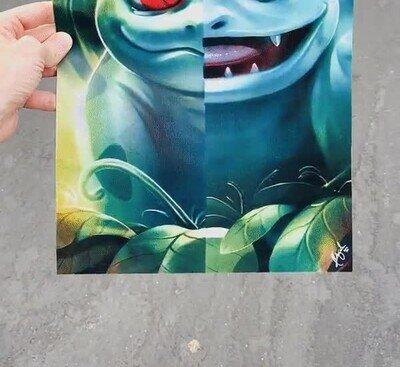 Enlace a Diferencias entre evoluciones en un espectacular póster 3D