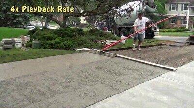 Enlace a Así se crean las carreteras de cemento