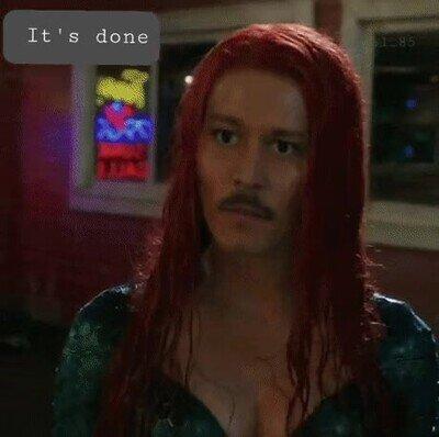 Enlace a La gente pide que Johnny Depp reemplace a Amber Heard en Aquaman