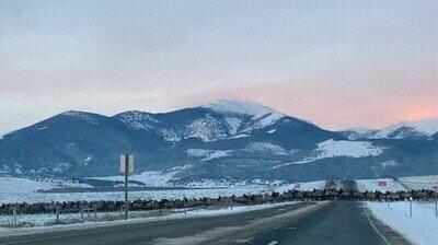 Enlace a Hora punta en la información sobre el tráfico de Montana