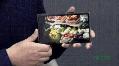 Enlace a Un móvil que aumenta de tamaño en cuestión de segundos