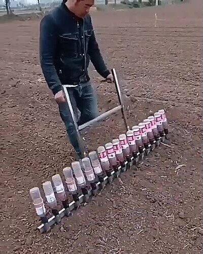 Enlace a Truco para plantar cosas sin perder mucho tiempo