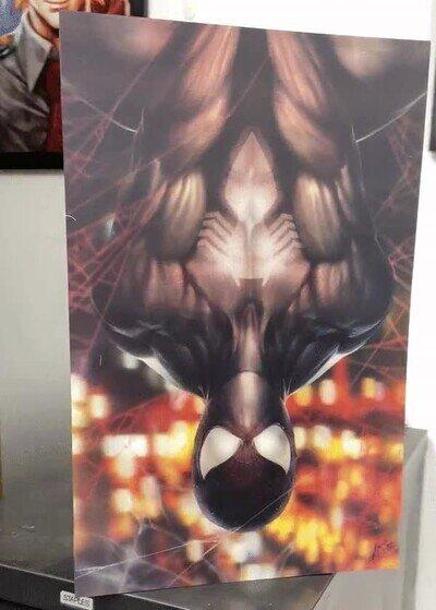 Enlace a Uno de esos pósters que encantará a los fans de Spider-man