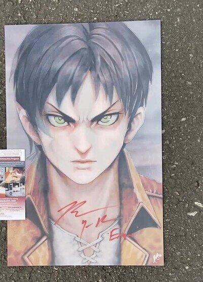 Enlace a Un póster que encantará a los fans de Attack on Titan