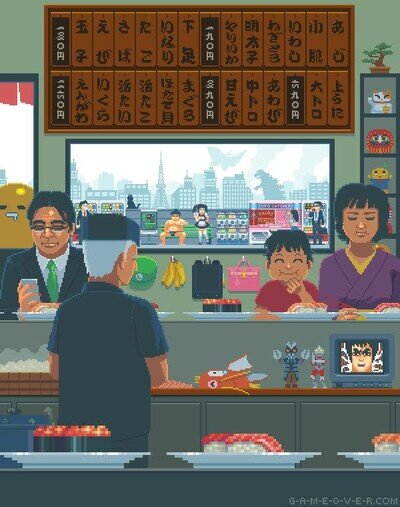Enlace a Un día normal en Japón