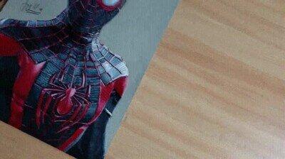 Enlace a Uno de los dibujos más increíbles que he visto de Spider-Man