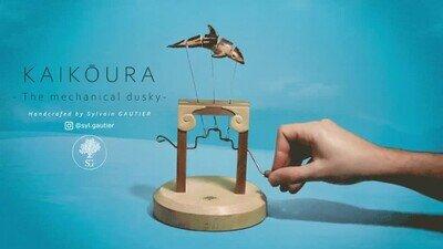 Enlace a Una máquina que recrea el movimiento de un delfín