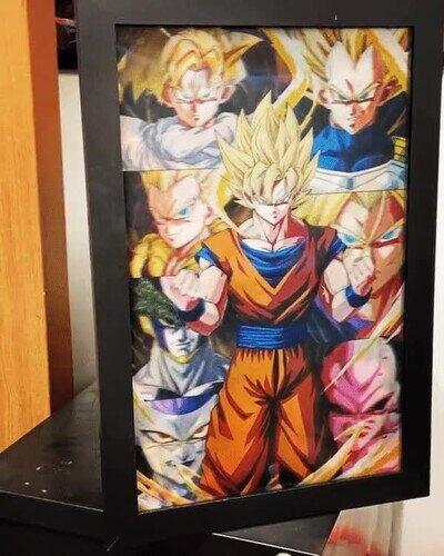 Enlace a El póster 3D lenticular definitivo de Dragon Ball