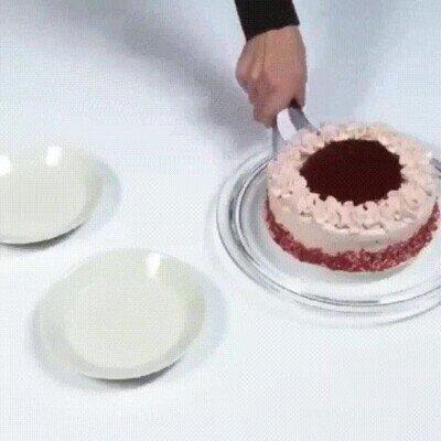 Enlace a El mejor método para servir trozos de pastel