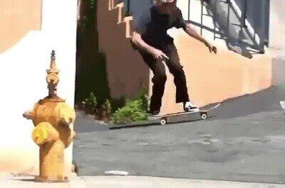 Enlace a Un espectacular salto con el skate