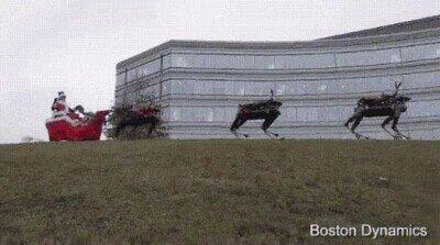 Enlace a Ha llegado la navidad a Boston Dynamics