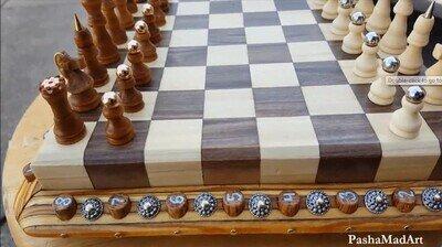 Enlace a El tablero de ajedrez más alucinante que he visto
