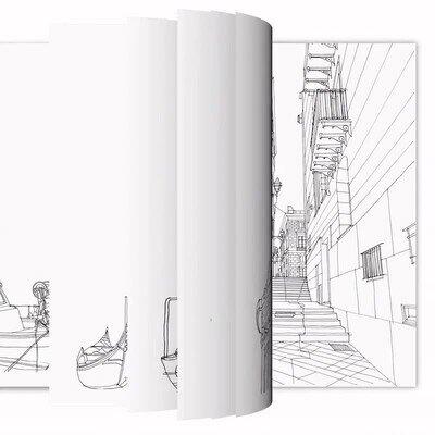 Enlace a Un libro que se pinta solo