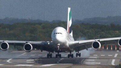 Enlace a Es una pasada ver este tipo de aterrizajes
