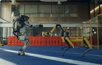 Enlace a Los robots han decidido bailar entre ellos. Estamos salvados