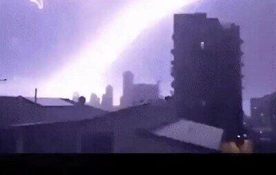 Enlace a Uno de los rayos más terroríficos que he visto