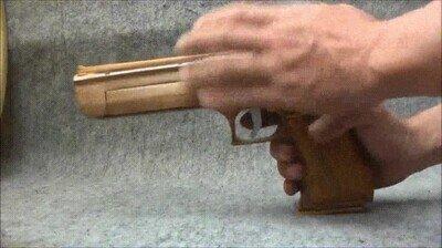 Enlace a Así funciona una pistola de goma