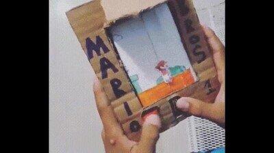 Enlace a El Super Mario Bros más artesanal