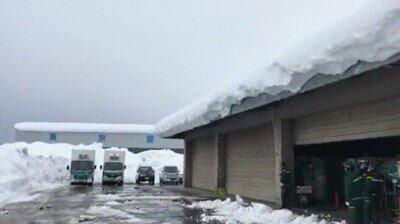 Enlace a ¿Qué demonios ha pasado con la nieve en el techo?