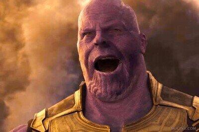 Enlace a Thanos un poco pasado de rosca