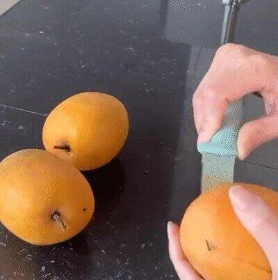 Enlace a Comer mango así es una fantasía
