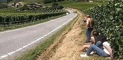 Enlace a Ser espectador en un rally de coches puede ser peligroso
