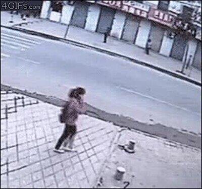 No voy a caminar tranquilo por la calle