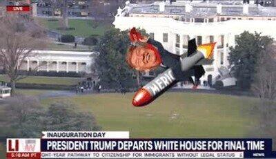 Enlace a Así ha sido la despedida de Trump de la Casa Blanca