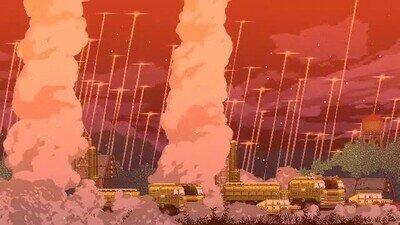 Enlace a Así sería el fin del mundo en versión pixelada