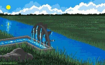 Enlace a Una animación pixelart que te relajará si estás nervioso