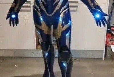 Enlace a Un espectacular traje de Iron Woman