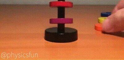 Enlace a Me pasaría el día entero jugando con cosas magnéticas
