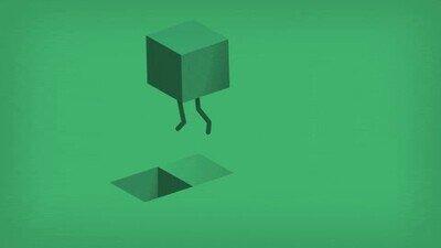 Enlace a Arenas movedizas de un cuadrado verde