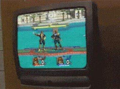Enlace a Lo peor que le puede pasar a tu tele mientras juegas a Smash Bros