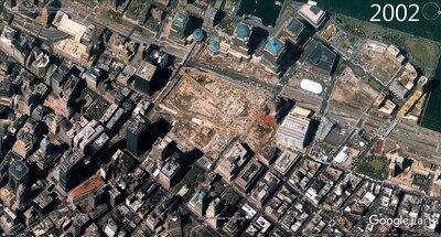 Enlace a World Trade Center 16 años atrás y ahora