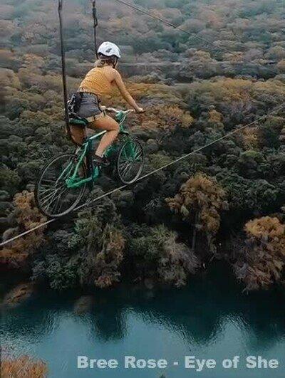 Enlace a ¿Te atreverías a cruzar en bici?