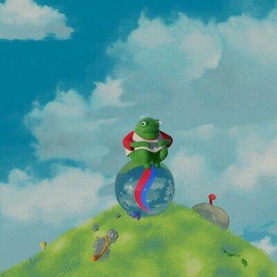 Enlace a Una rana animada que te ayudará a relajarte