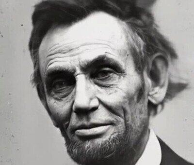 Enlace a Así era Abraham Lincoln en la vida real