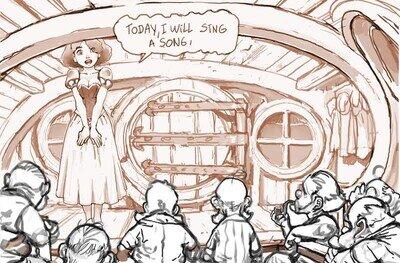 La historia secreta detrás de Blancanieves