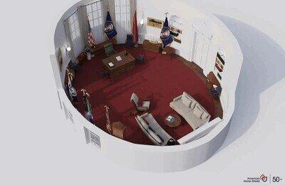 Enlace a Así decoraron todos los presidentes el Despacho Oval